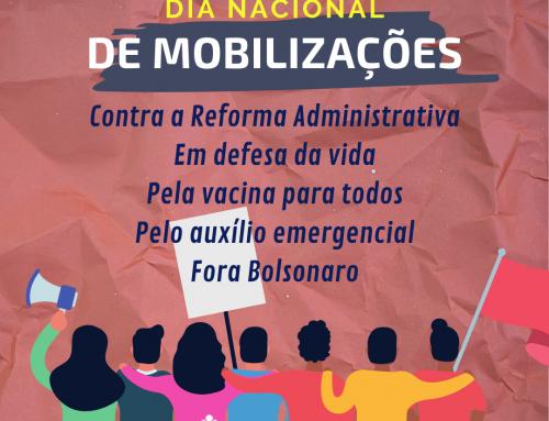 24 de março: Dia de Mobilizações contra a Reforma Administrativa