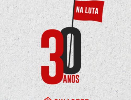 Sinasefe Rio Pomba celebra 30 anos de lutas